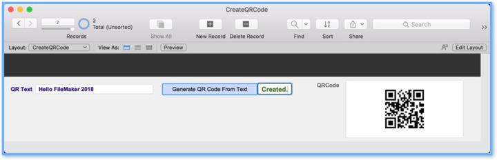 Recommendations for QRCode Generation in FMP — FileMaker Community