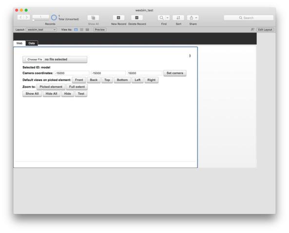 Web Viewer not loading javascripts (Wexbim Viewer) — FileMaker Community