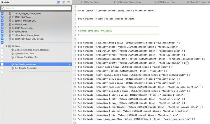 Parse JSON - Multiple Returns for 1 Records — FileMaker Community
