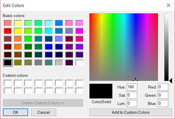 Color Chooser Field — FileMaker Community