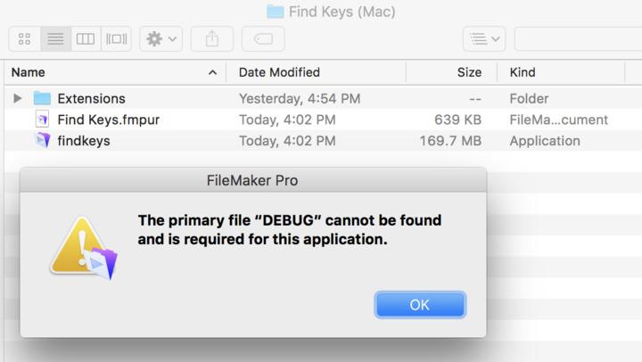 The primary file