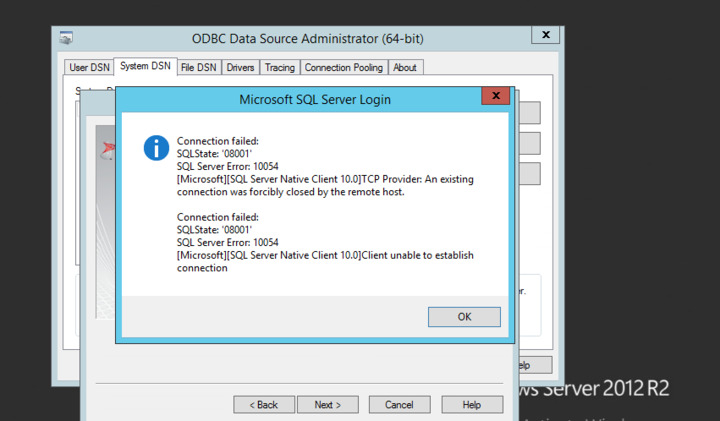 ODBC Connection Failure — FileMaker Community