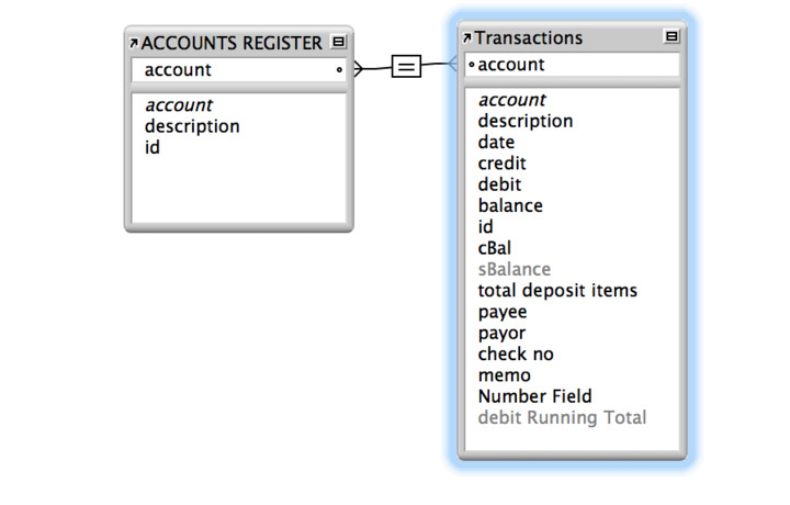 Checkbook Register — FileMaker Community