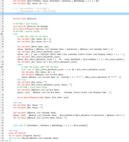 Script Workspace Color Code Step Names — FileMaker Community
