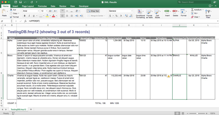 ANN] Export custom spreadsheets with FMP2XLS v1 01 — FileMaker Community