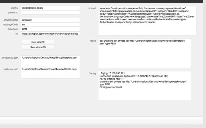 CURL SOAP request using SSL encryption — FileMaker Community