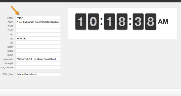 Javascript clock — FileMaker Community
