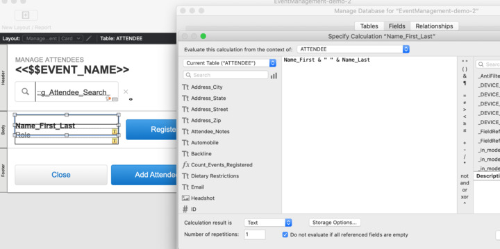 How to sort a calculated name field by First Name — FileMaker Community