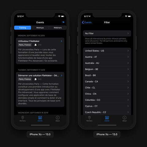 FM Partners app for iOS • Public TestFlight beta • 1 0 (8